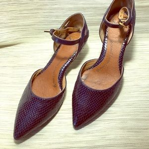 Sofft - Embossed leather pumps - 7